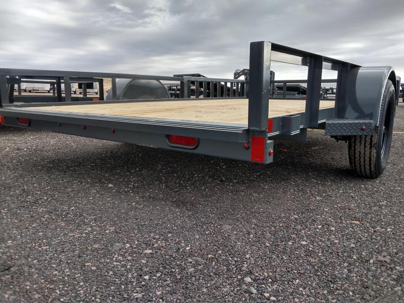 2022 Delco Utility Trailer 83 x 14, Side Load