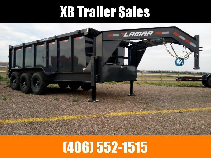 2022 Lamar Gooseneck Dump Trailer 83 x 16  21K