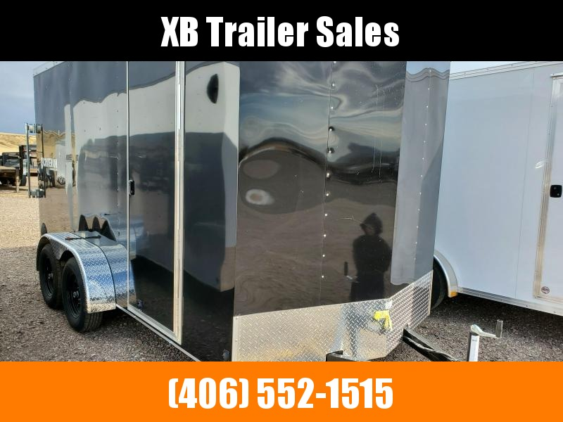 2022 Criterion Cargo Trailer 7 x 14 Ramp