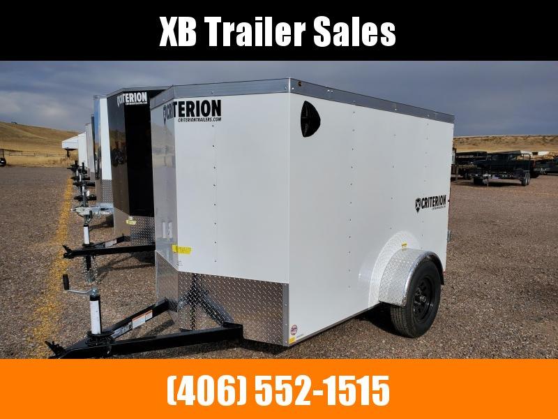 2022 Criterion Cargo Trailer 5 x 8