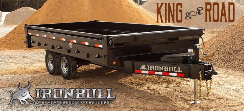 2022 Iron Bull Dump Trailer 96 x 16  14K