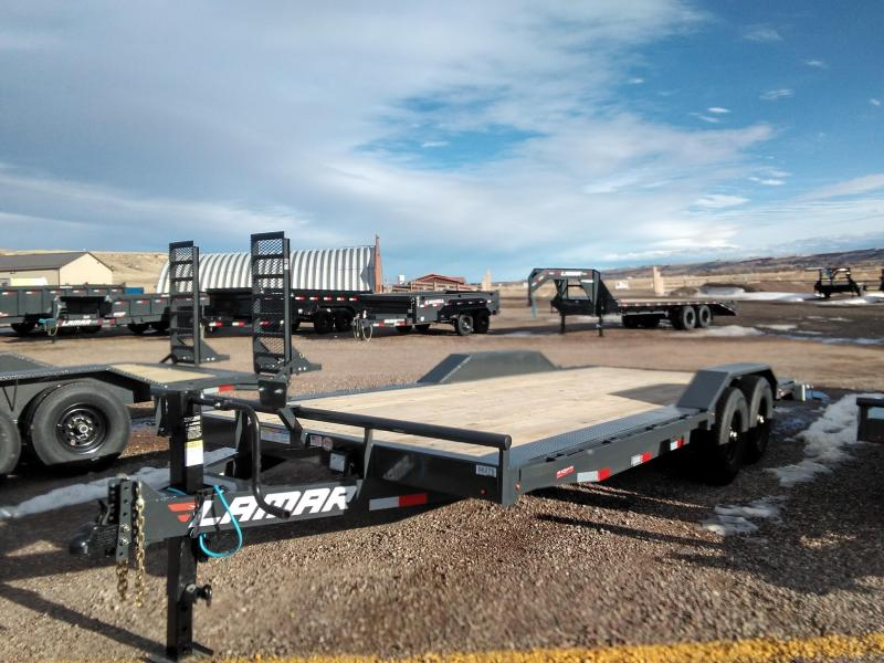 2021 Lamar 22 Equipment Trailer 14K