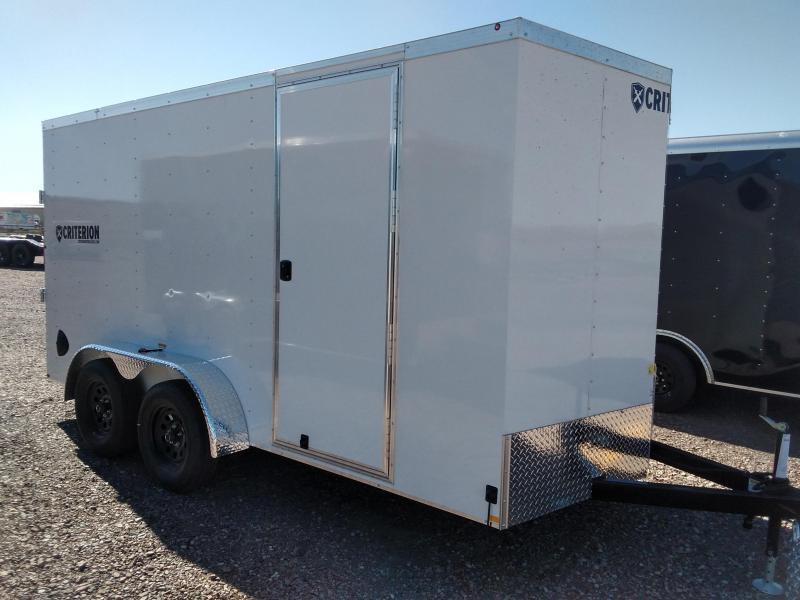 2022 Criterion Cargo Trailer 7 x 16 Ramp