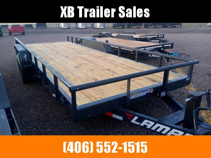 2022 Lamar Utility Trailer 83 x 20, 14K