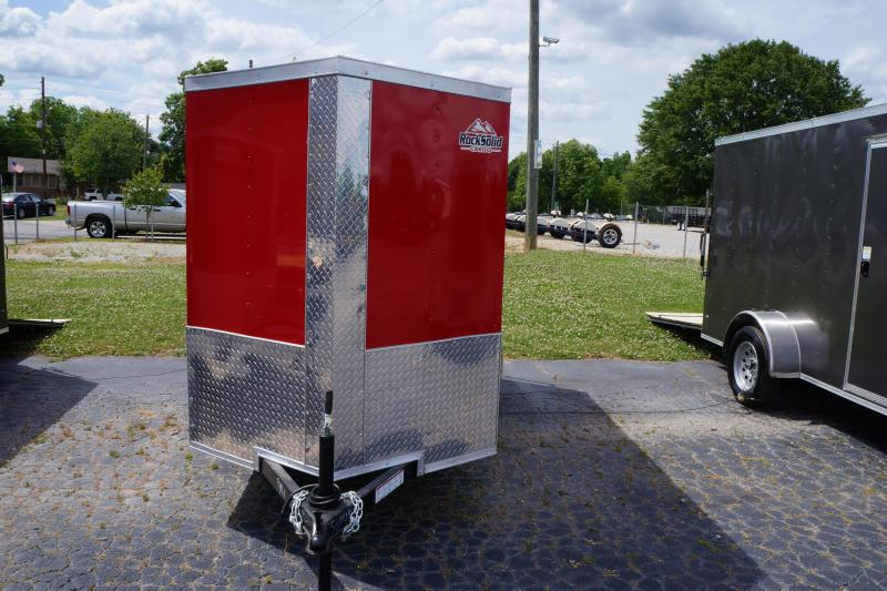 2021 Rock Solid Cargo 5X10SA Enclosed Cargo Trailer