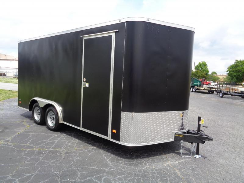2021 Covered Wagon CW8.5X16TA2 Enclosed Trailer