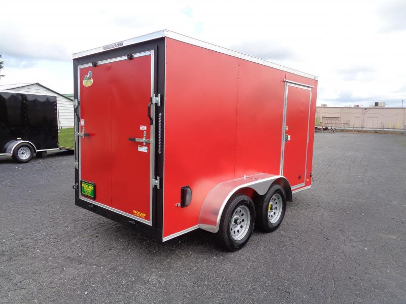 2021 Covered Wagon Trailers CW6X12TA2 Enclosed Cargo Trailer