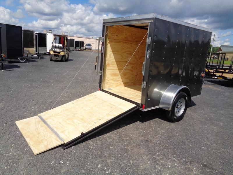 2022 Rock Solid Cargo 5X8SA Enclosed Cargo Trailer