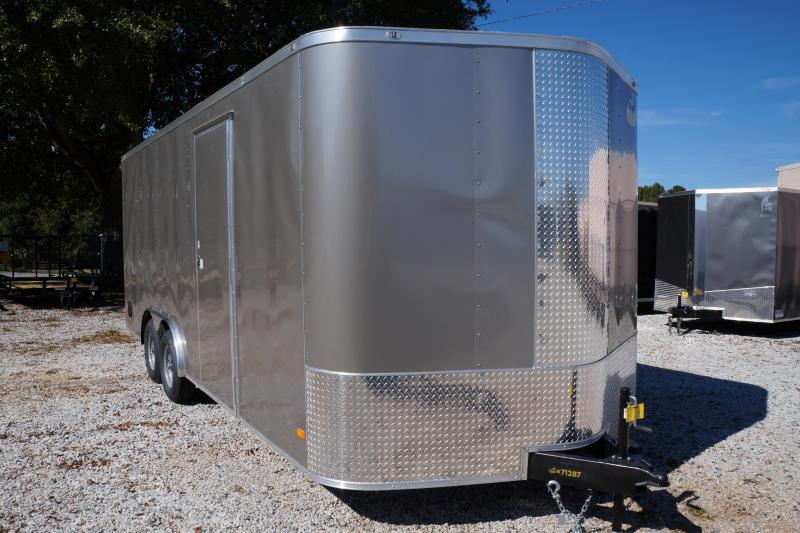 2022 Covered Wagon Trailers CW8.5X20TA3 Enclosed Cargo Trailer