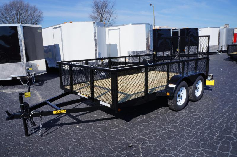 2022 6 X 14 2 Axle 24 Expanded Metal Sides