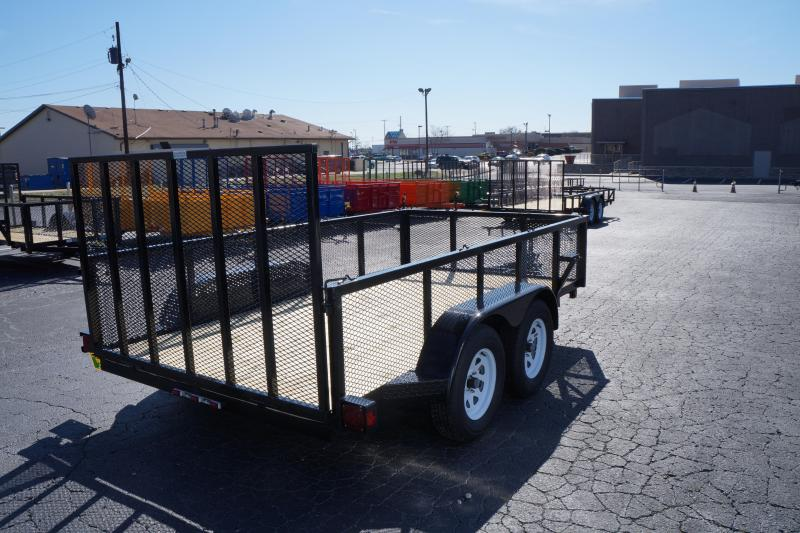 2021 6 X 14 2 Axle 24 Expanded Metal Sides