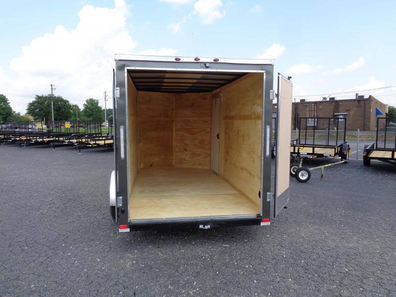 2022 Seed Cargo 6X12SA Enclosed Cargo Trailer