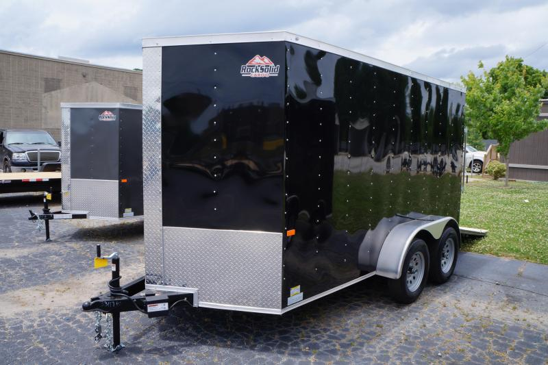 2022 Rock Solid Cargo 7X14TA3500 Enclosed Cargo Trailer