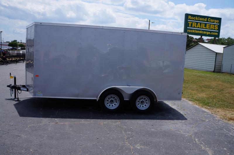 2021 Rock Solid Cargo 7X14TA-3500LB Enclosed Cargo Trailer