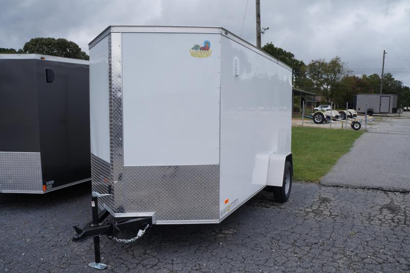2022 Covered Wagon Trailers CW6X12SA Enclosed Cargo Trailer