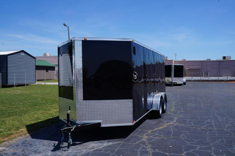 2021 Seed Cargo 7X16TA2 Enclosed Cargo Trailer