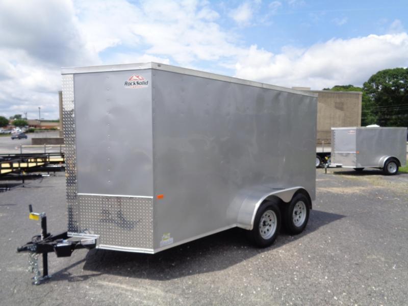 2021 Rock Solid Cargo 6X12TA-3500LB Enclosed Cargo Trailer