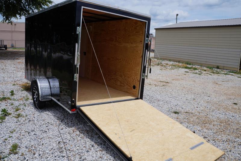 2021 Seed Cargo 6X12SA Enclosed Cargo Trailer