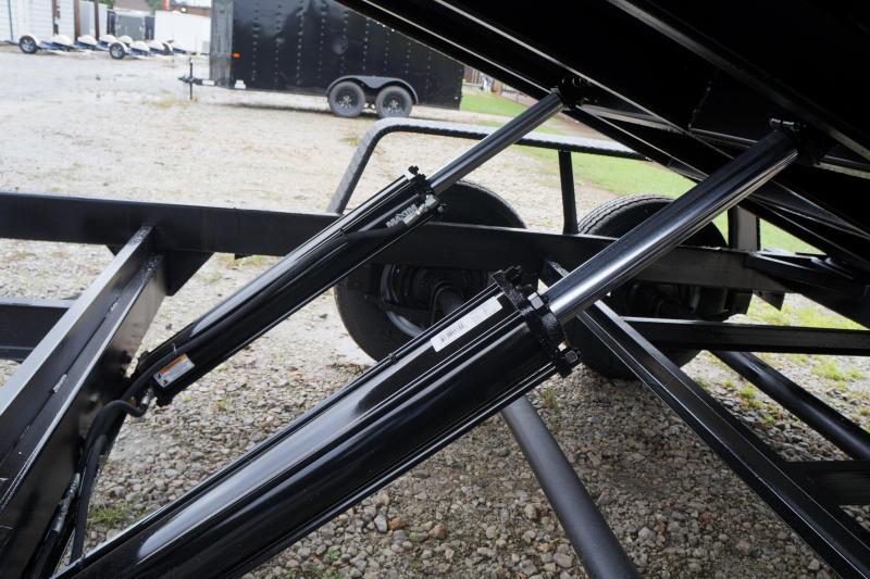 2022 Covered Wagon Trailers CWD7X14TA5 Dump Trailer