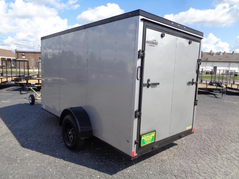 2022 Rock Solid Cargo 6X12SA-3500LB Enclosed Cargo Trailer