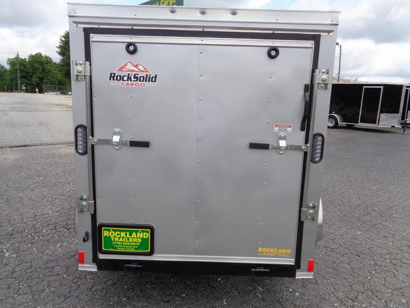 2021 Rock Solid Cargo 5X8SA Enclosed Cargo Trailer