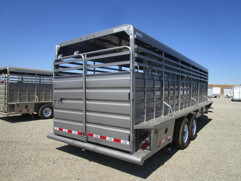 2021 GR Trailers STOCK-GN Livestock Trailer