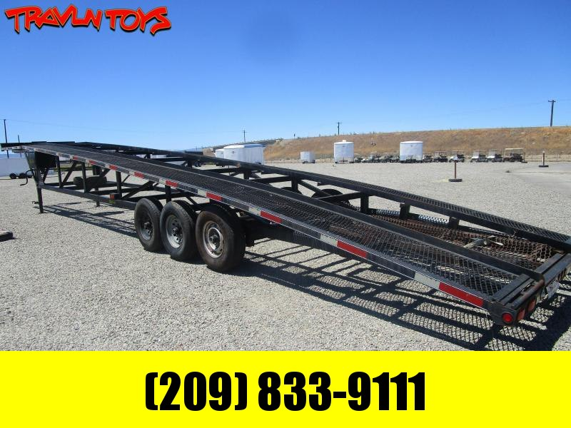 2012 Kaufman Trailers 3 CAR WEDGE Other Trailer