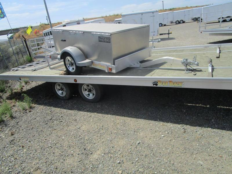 2014 Bear Track 8.5 x 22 Tandem Axle Utility