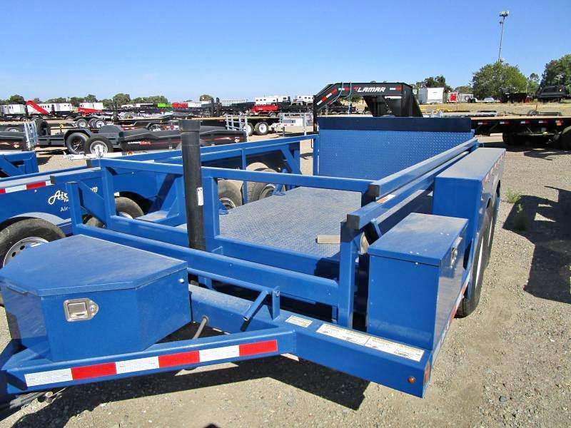 Air-Tow -DH10- 8K Hydraulic Equipment Lift - DropDown Deck