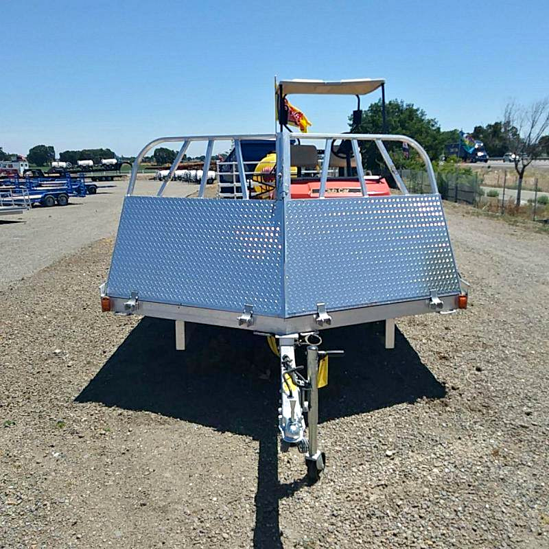 Floe -4.4k- 8x28 Snowmobile Trailer w/Salt Shield Ramps SALE