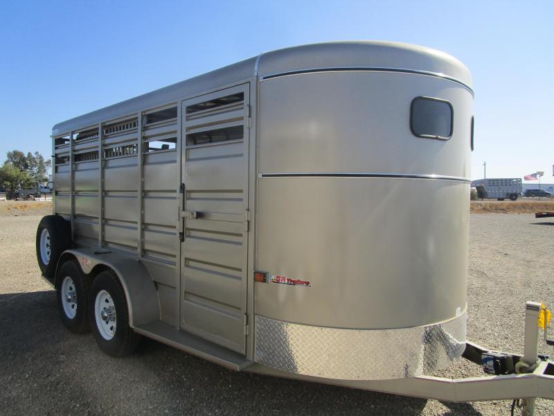 2022 GR Trailers STOCK-BP Livestock Trailer