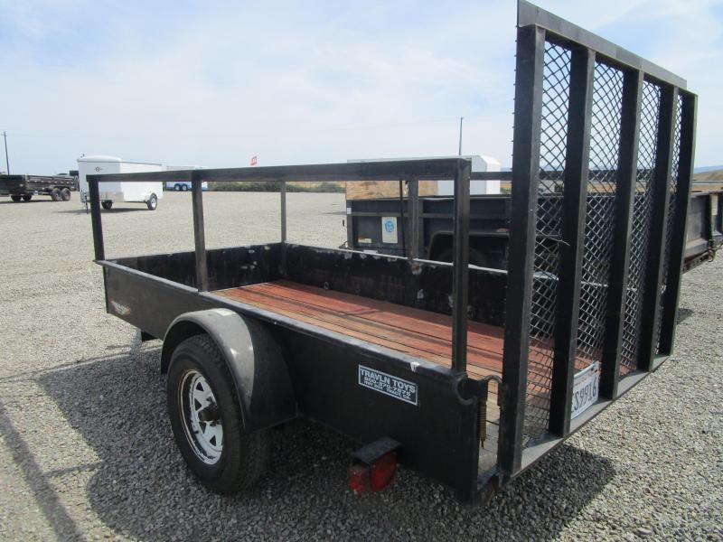 Rental Utility High Side Single Axle 5x10