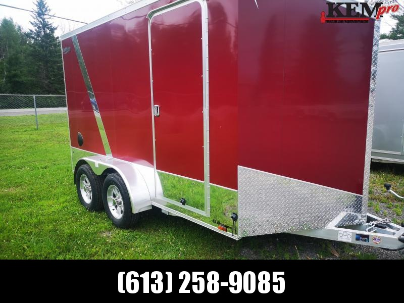 2020 Lightning Trailers 712 Motorcycle Enclosed Cargo Trailer