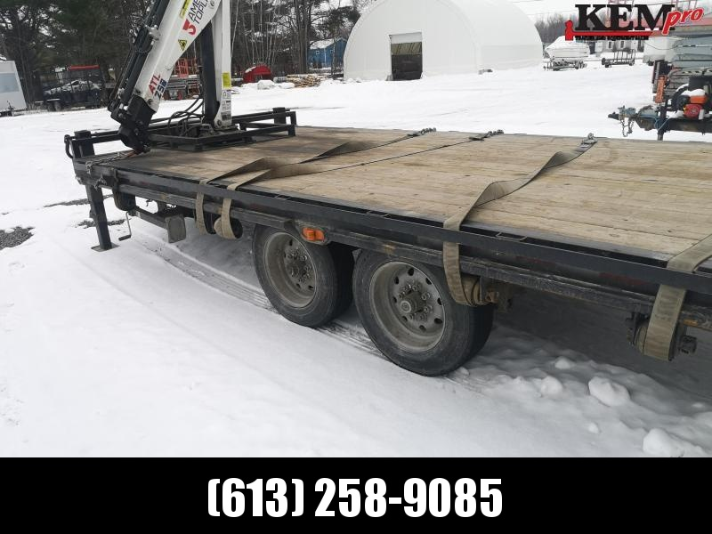 2020 Nation Tank and Trailer Crane Trailer Equipment Trailer