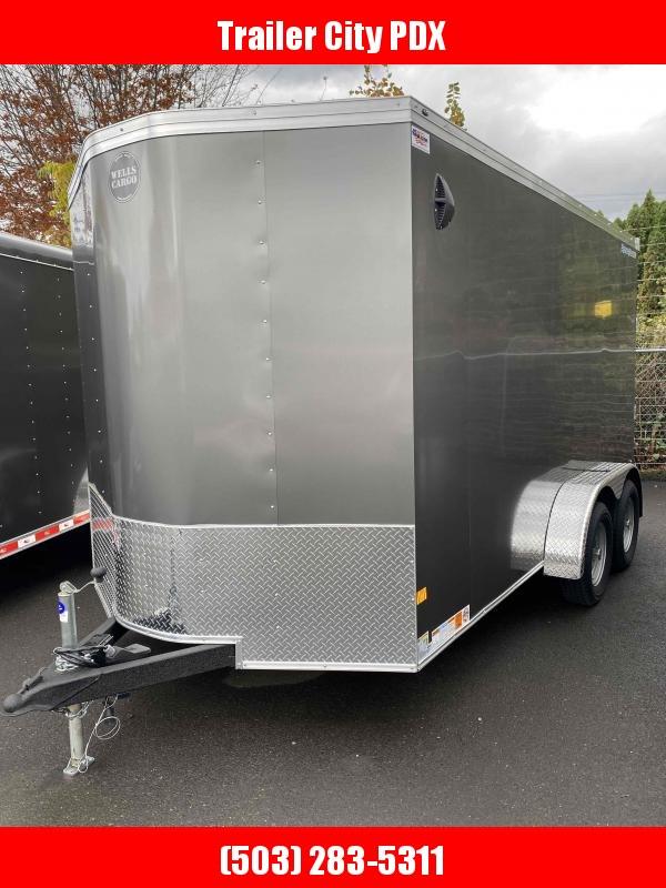 2022 Wells Cargo RFV714T2 Enclosed Cargo Trailer