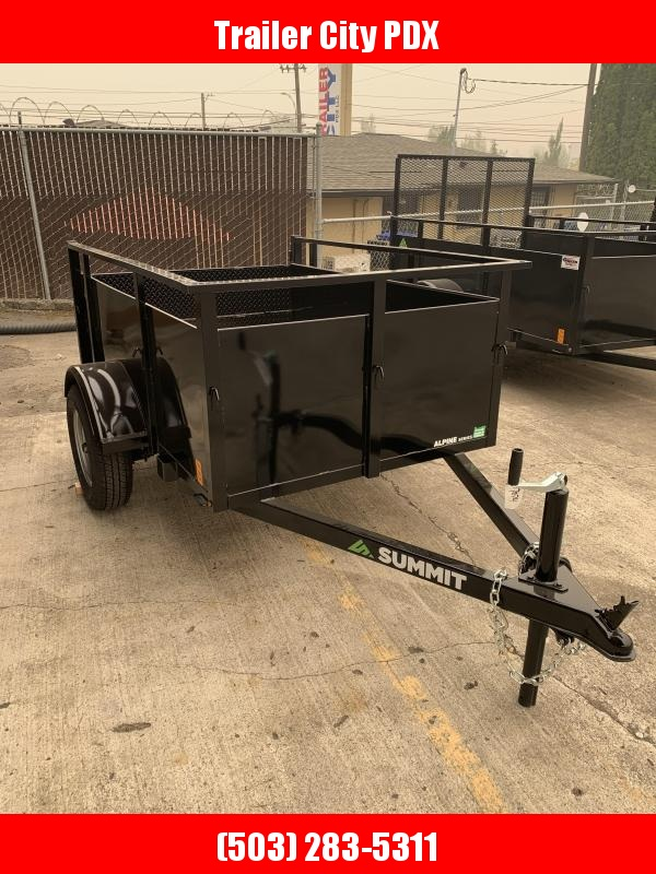 2021 Summit AU 4 X 6 SA-SR Utility Trailer