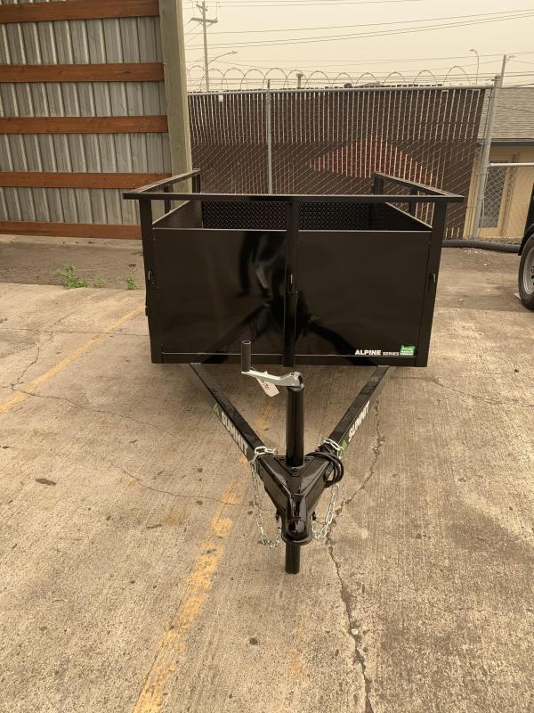 2021 Summit AU 4 X 6 SA-SR Utility Trailer