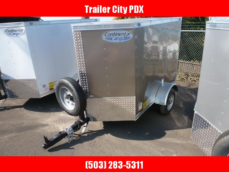 2021 Continental Cargo 4 X 6 ENCLOSED V SERIES TRAILER Enclosed Cargo Trailer
