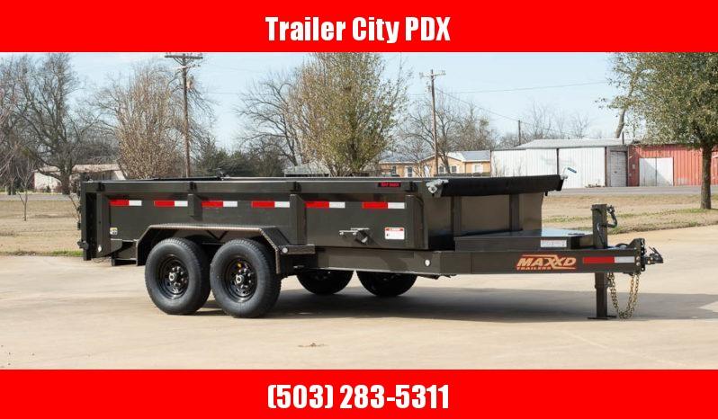 2020 MAXXD 7 X 14 14K  w/ 3FT SIDES Dump Trailer