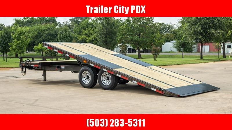 2021 MAXXD GOX - 16K Gravity Tilt Deckover Trailer Flatbed Trailer
