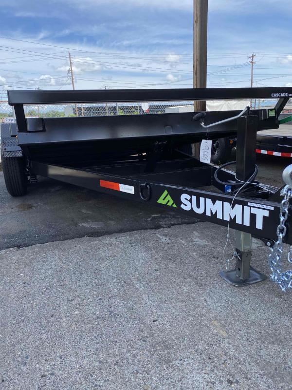 2021 Summit C5TB718TA3 Flatbed Trailer