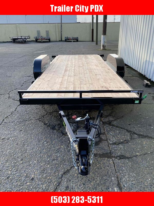 2021 Summit 7 X 18 ALPINE TILT Flatbed Trailer