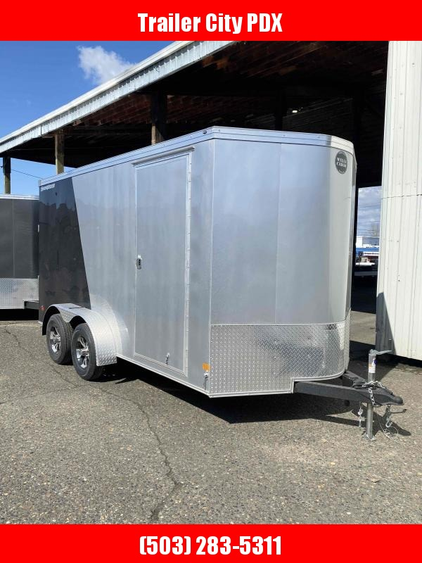 2021 Wells Cargo 7X14 7k ROAD FORCE RAMP TWO TONED Enclosed Cargo Trailer