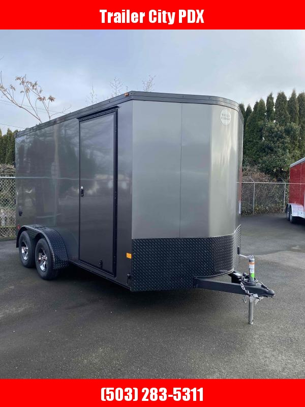 2021 Continental Cargo 7 X 14 7K ROAD FORCE ENCLOSED RAMP PHANTOM TRIM C Enclosed Cargo Trailer