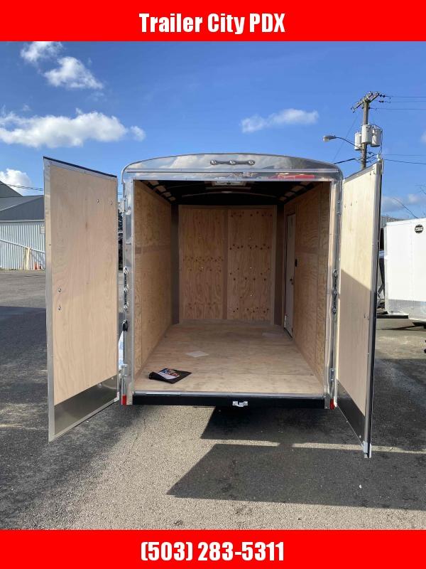 2021 Continental Cargo 6X10 5K CARGO DOORS CHARCOAL Enclosed Cargo Trailer