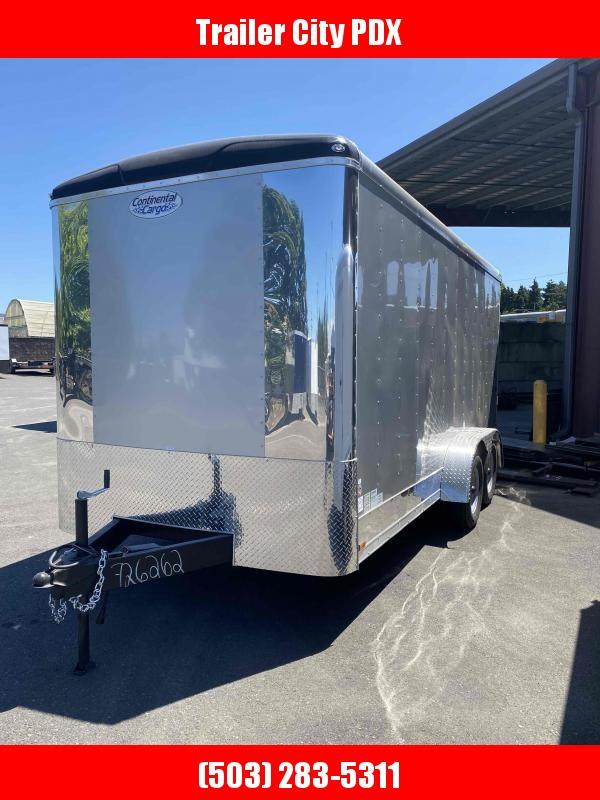 2021 Continental Cargo 7X16 7K RAMP TALL DIAMOND ICE Enclosed Cargo Trailer