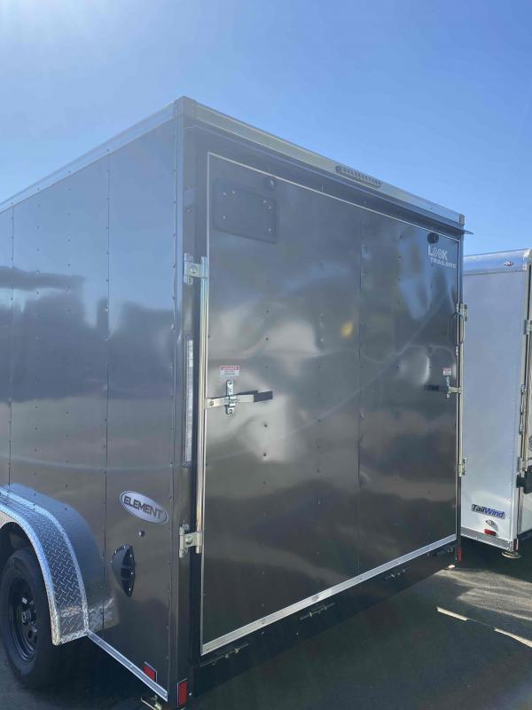 2022 Look Trailers 7.5 X 14 7K RAMP Charcoal Enclosed Cargo Trailer
