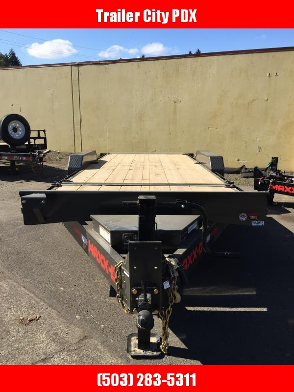 "2021 MAXXD 22' X 83"" G8X - 8"" Gravity Equipment Tilt Trailer Utility Trailer"