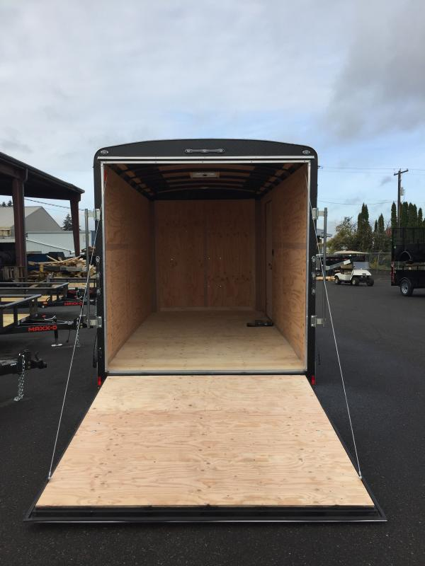 2021 Continental Cargo 7 x 14 7k RAMP STEALTH CHAMPAGNE Enclosed Cargo Trailer