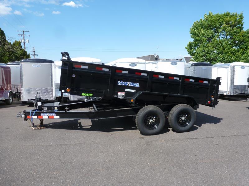 """2020 Load Trail 83"""" X 14 14K DUMP 2FT SIDES Dump Trailer"""
